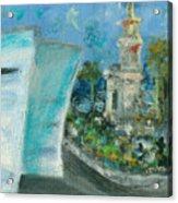 Freedom Tower And Aaa Acrylic Print