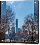 Freedom Tower Framed Acrylic Print