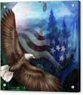 Freedom's Flight Acrylic Print