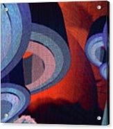 Freeman Street Flying Disks Acrylic Print