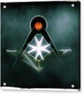 Freemason Symbol By Raphael Terra Acrylic Print