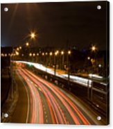 Freeway Streakers Acrylic Print