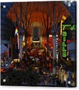 Fremont Street Nevada Acrylic Print