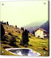 French Alps 1955 Acrylic Print