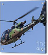 French Army Gazelle Helicopter Acrylic Print