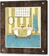 French Bath 2 Acrylic Print