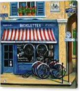 French Bicycle Shop Acrylic Print