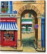 French Butcher Shop Acrylic Print