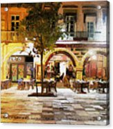 French Cafe Acrylic Print by James Shepherd
