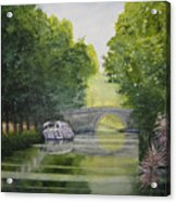 French Canal Acrylic Print