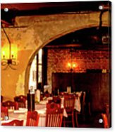 French Country Restaurant Acrylic Print