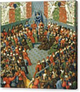 French Court, 1458 Acrylic Print