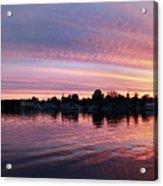 French Creek Sunrise Acrylic Print