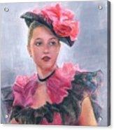 French Girl Acrylic Print