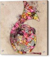 French Horn Acrylic Print