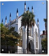 French Huguenot Church In Charleston Acrylic Print