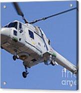 French Navy Westland Sea Lynx Acrylic Print