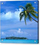 French Polynesia, Bora Bo Acrylic Print