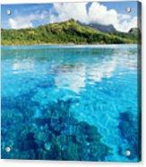 French Polynesia, View Acrylic Print