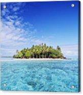 French Polynesian Island Acrylic Print