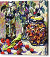 French Provence Cooking Still Life Acrylic Print