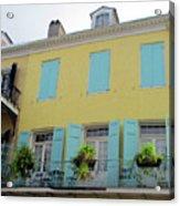 French Quarter 20 Acrylic Print
