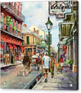 French Quarter Antiques Acrylic Print by Dianne Parks