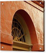 French Quarter Arches Acrylic Print
