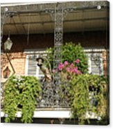 French Quarter Balcony Acrylic Print