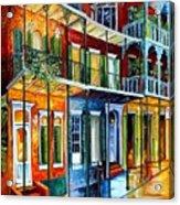 French Quarter Charm Acrylic Print