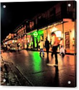 French Quarter New Orleans Acrylic Print