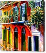 French Quarter Sunshine Acrylic Print