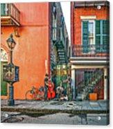 French Quarter Trio Acrylic Print