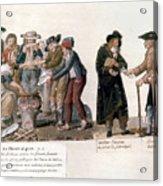 French Revolution, 1795-96 Acrylic Print