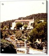 French Riviera 1955 Acrylic Print