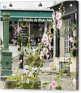 French Square Acrylic Print