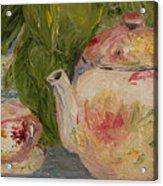 French Teapot Acrylic Print