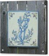 French Tile 1 Acrylic Print