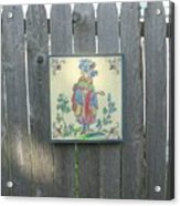 French Tile Colored 3 Acrylic Print