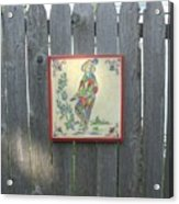 French Tile Colored 4 Acrylic Print