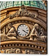 French Time Acrylic Print