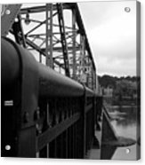 Frenchtown Bridge Acrylic Print