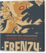 Frenzy - Thriller Noir Acrylic Print