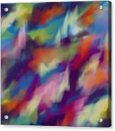 Fresh Abstraction Acrylic Print