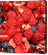 Fresh Berry Salad  Acrylic Print