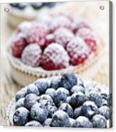 Fresh Berry Tarts Acrylic Print