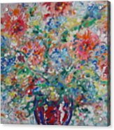 Fresh Bouquet Acrylic Print