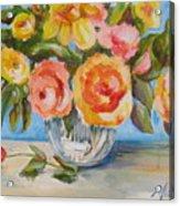 Fresh Bouquet Acrylic Print
