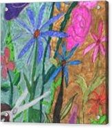 Fresh Cut Flowers Acrylic Print