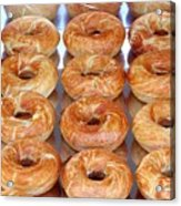 Fresh Frosted Doughnuts On Sale Acrylic Print